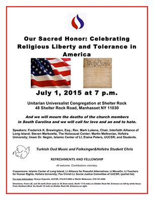 Celebrating Religious Liberty Event