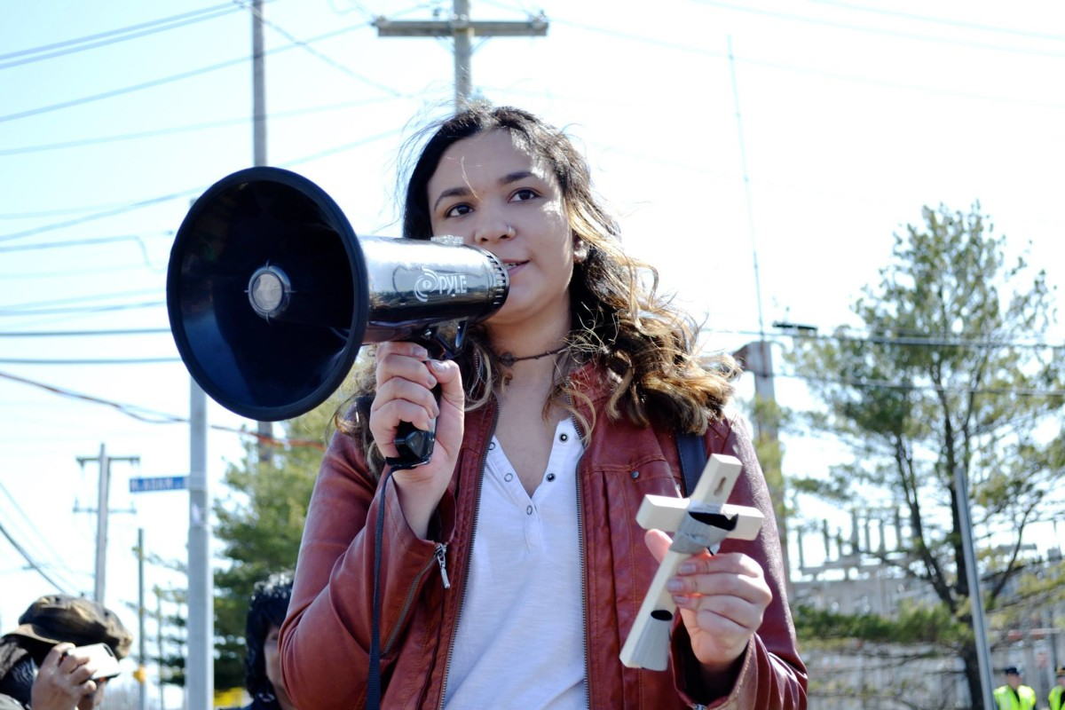Denisse honored by Nassau County