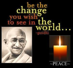 Gandhi Commemoration, October 5 at Hofstra University, 6-8 p.m. Inaugurating the Institute for Peace Studies