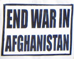 Call to end war in Afghanistan