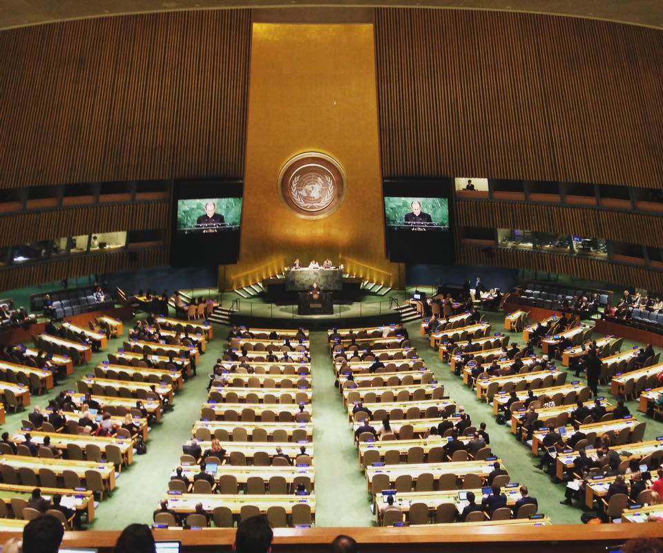 BAN NUCLEAR WEAPONS NEGOTIATIONS BEGIN AT UNITED NATIONS